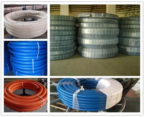 Package-suction-discharge-hose