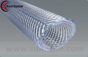 clear reinforced pvc hose