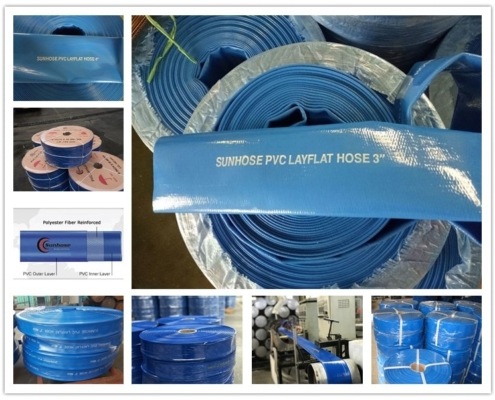 package of layflat hose