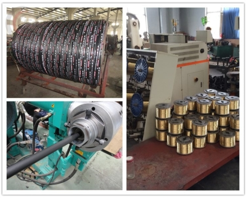 material of hydraulic hose r1at