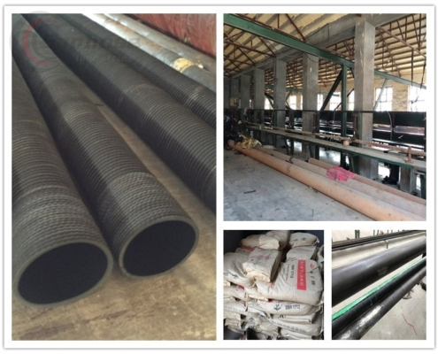 material of rubber delivery hose