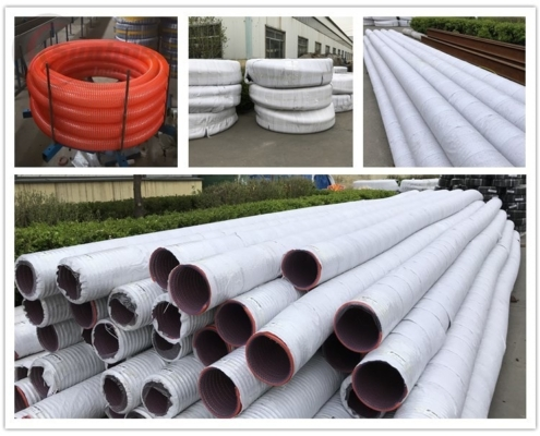 Package of Heavy Duty PVC Fabric Reinforced Suction Hose