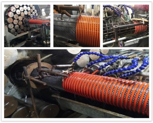Production of Heavy Duty PVC Fabric Reinforced Suction Hose Corrugated