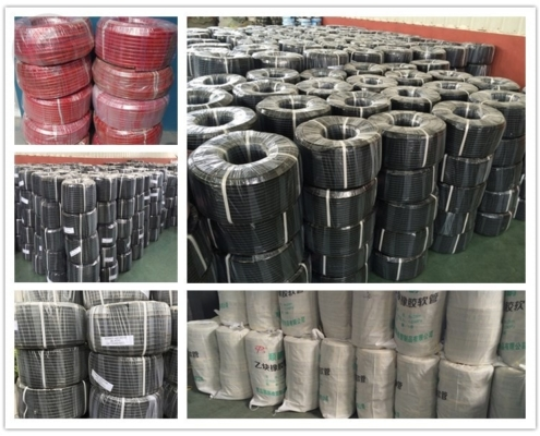 Rubber air hose package