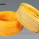 yellow pvc air hose